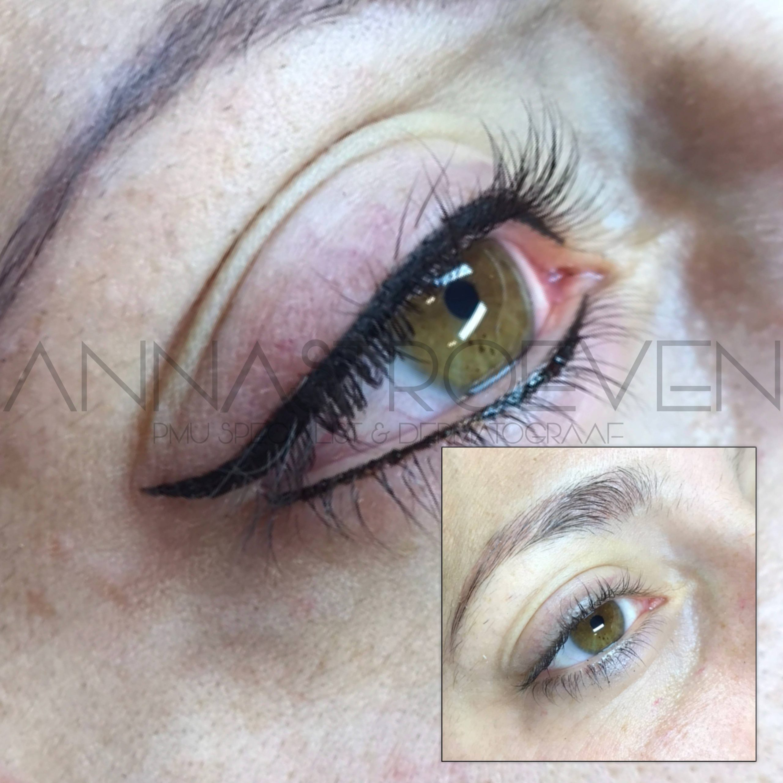 Eyeliner met wing