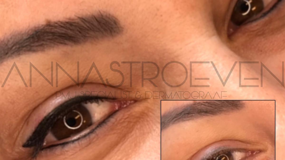 Verschil infralash en eyeliner